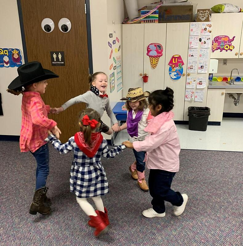 Rich hands on learning in Pre-Kindergarten at San Antonio Christian School