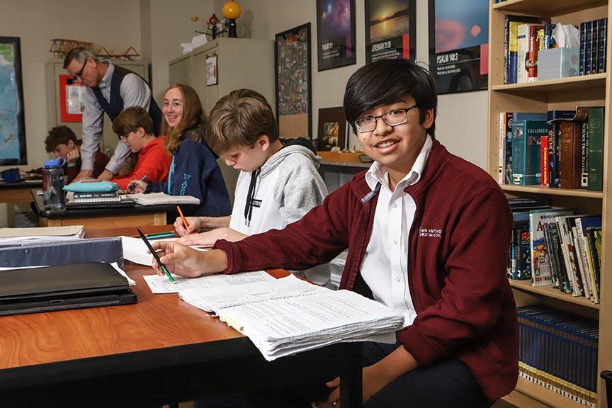 San Antonio Christian School, a PK  - 12 christian school